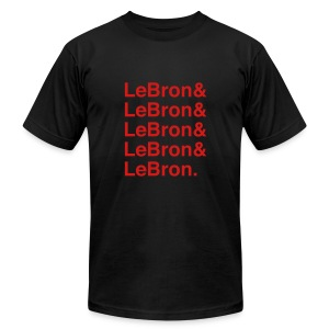 LeBron - Miami - Men's T-Shirt by American Apparel