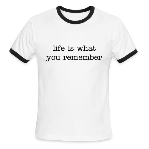 life is... - Men's Ringer T-Shirt