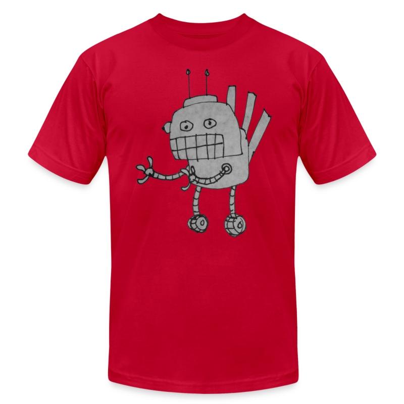 Wheelybot for Men - Men's Fine Jersey T-Shirt