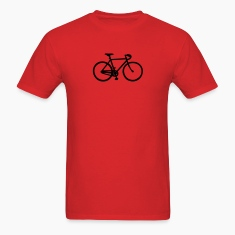 Red racing bicycle T-Shirts