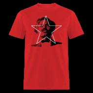 T-Shirts ~ Men's T-Shirt ~ ALBIZU STAR RED MEN