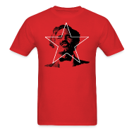 T-Shirts ~ Men's T-Shirt ~ ALBIZU STAR RED MEN