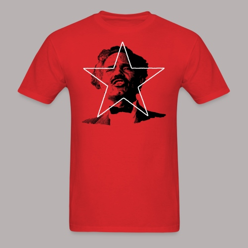 ALBIZU STAR RED (MENS CUT) - Men's T-Shirt
