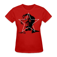 Women's T-Shirts ~ Women's T-Shirt ~ ALBIZU STAR RED WOMEN