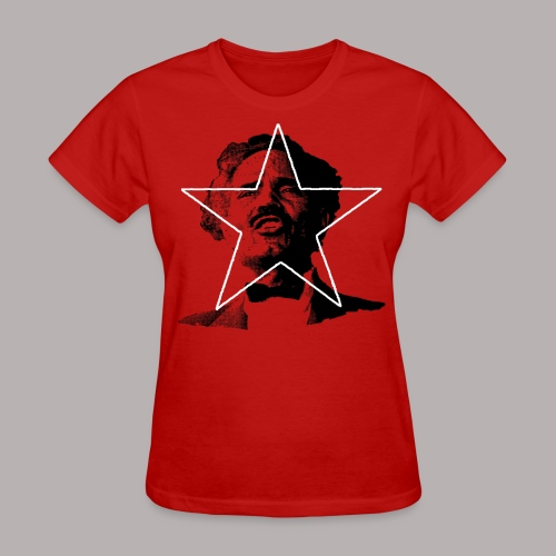 ALBIZU STAR RED (WOMENS CUT) - Women's T-Shirt