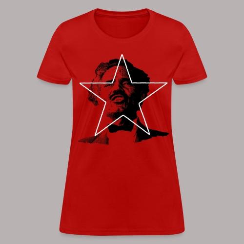 ALBIZU STAR RED (WOMENS CUT) - Women's T-Shirt