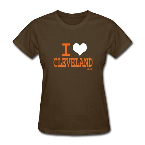 Cleveland Football - Women's T-Shirt