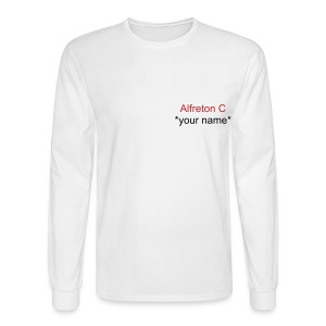 Alfreton C - Men's Long Sleeve T-Shirt