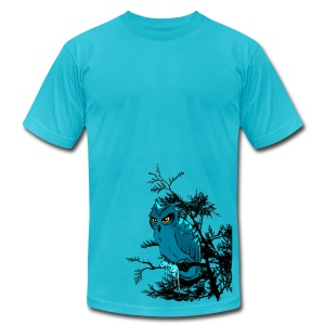 Fowl Prey - Men's T-Shirt by American Apparel