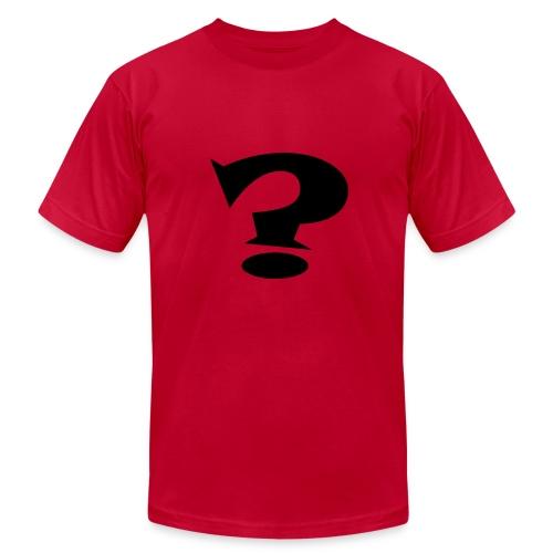 Question Mark - Men's Fine Jersey T-Shirt