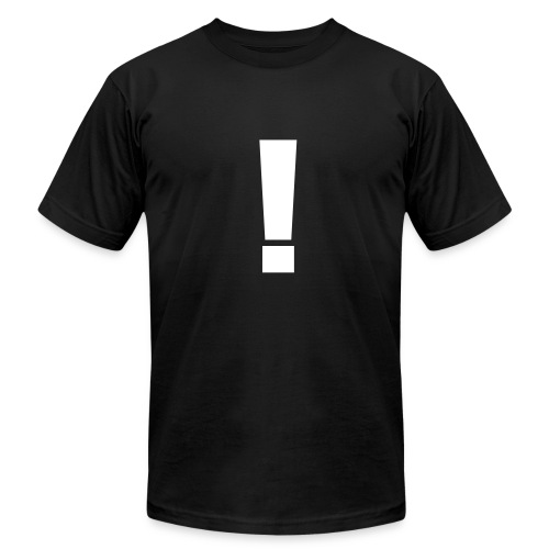Exclamation Mark - Men's Fine Jersey T-Shirt