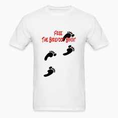 Free The bare Foot Bandit T-shirt