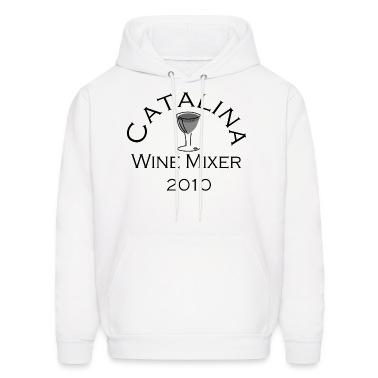 White Catalina Wine Mixer Hoodies