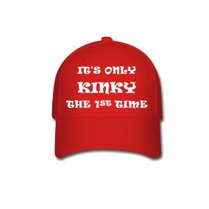 Mens Ball Cap its only kinky - Baseball Cap