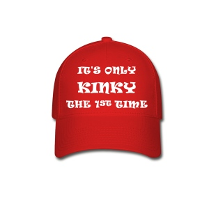 Mens Ball Cap its only kinky - Baseball Cap