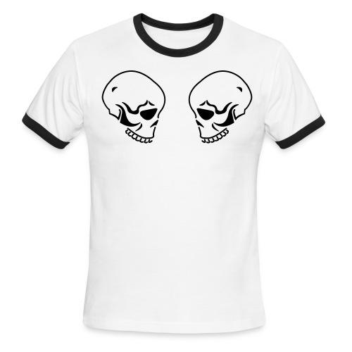 Double Skull - Men's Ringer T-Shirt