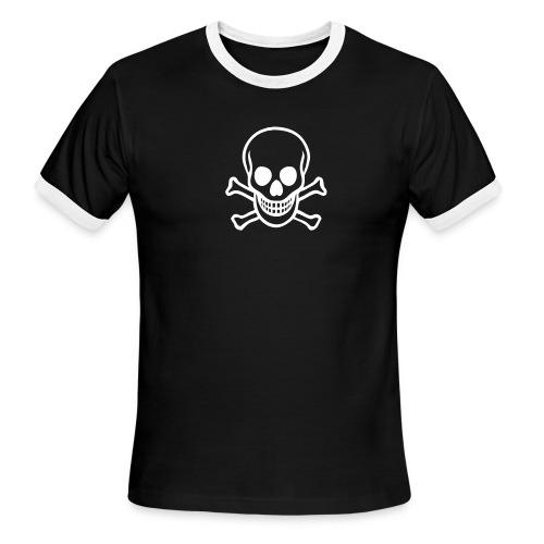 Classic Skull - Men's Ringer T-Shirt