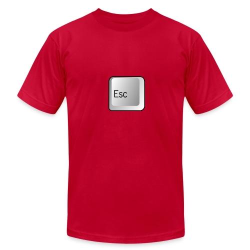 Escape Key On A Shirt - Men's Fine Jersey T-Shirt