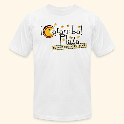 Fictional Arcades: Caramba Plaza (Vintage Print) - Men's Fine Jersey T-Shirt