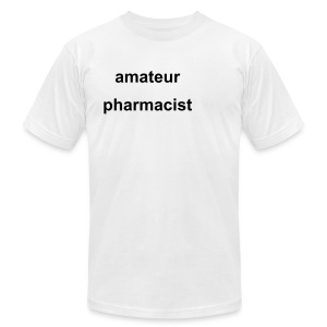 amateur pharmacist - Men's T-Shirt by American Apparel