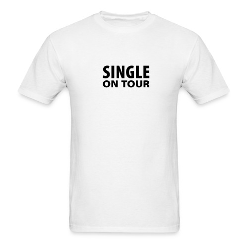 Single on Tour (White) - Men's T-Shirt