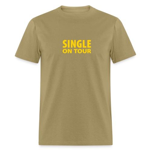 Single on Tour (Beige) - Men's T-Shirt