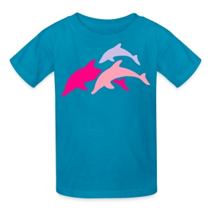 dolphins - Kids' T-Shirt