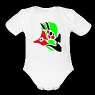 Baby Bodysuits ~ Baby Short Sleeve One Piece ~ fish