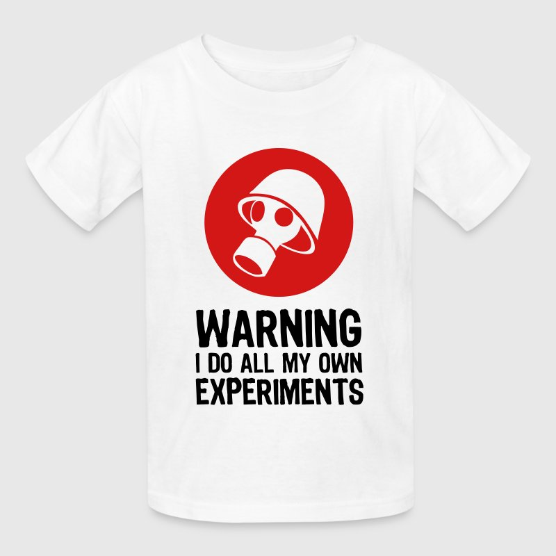 Caution make my own experiments t shirt spreadshirt for Print my own t shirt design