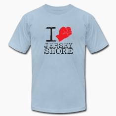 I Love Jersey Shore Fist Pump T-Shirts
