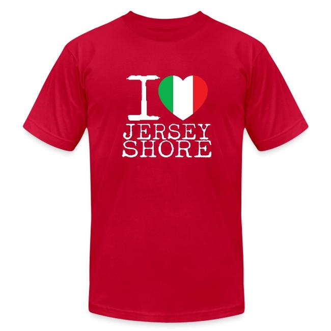 140bcbfb6 Jersey Shore Shirts | I Love Jersey Shore T-Shirt - Mens Jersey T-Shirt