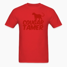 Red COUGAR TAMER T-Shirts