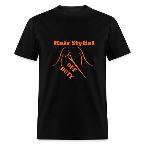 Hair Stylist Off Duty orange - Men's T-Shirt