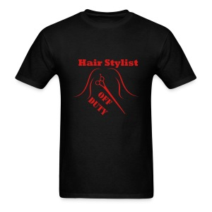 Hair Stylist Off Duty red - Men's T-Shirt