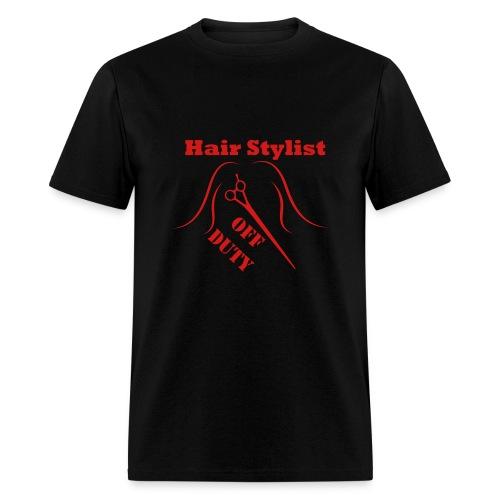 Hair Stylist Off Duty red - Men's T-Shirt