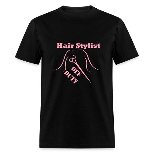 Hair Stylist Off Duty light pink - Men's T-Shirt