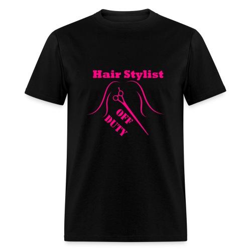 Hair Stylist Off Duty hot pink - Men's T-Shirt