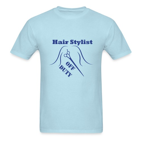 Hair Stylist Off Duty blue - Men's T-Shirt