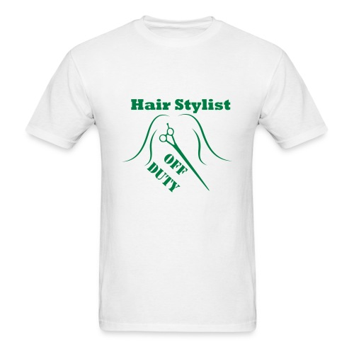Hair Stylist Off Duty green - Men's T-Shirt