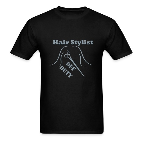 Hair Stylist Off Duty green - Men's T-Shirt
