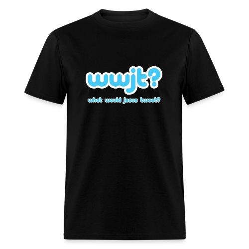 What Would Jesus Tweet? (Men) - Men's T-Shirt