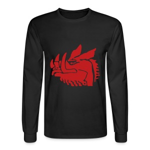 BLACK KNIGHT Costume Long Sleeve - Men's Long Sleeve T-Shirt