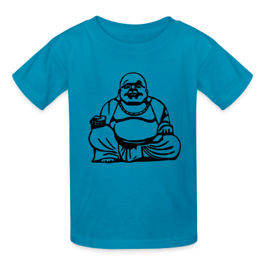 Orange Buddha Kids' Shirts