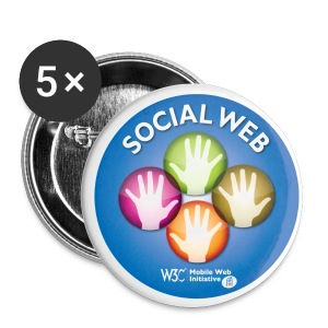 socialweb_blue_badges - Small Buttons