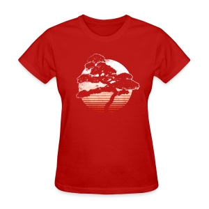 Bonsai Sunrise - Women's T-Shirt
