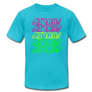AIYAH! - Men's T-Shirt by American Apparel
