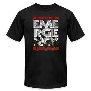 In Case of Emergency BREAK! - Men's T-Shirt by American Apparel