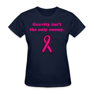 Gravity - pnk txt - Women's T-Shirt