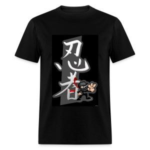 Ninja & Ninja Symbol - Men's T-Shirt