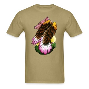 Eagle-Pig - Men's T-Shirt